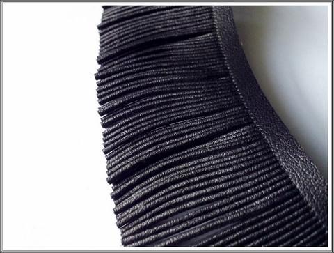 Hapsunauha, synteettinen nahka, 10 cm