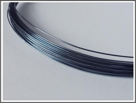 Niobiumlanka 0.6 mm, 10 cm, vaaleansininen