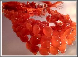 Karneoli A, sileä päärynä brioletti, 10 kpl