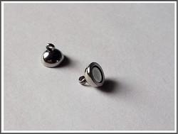 Magneettilukko pyöreä Ø 6 mm, ruostumaton teräs