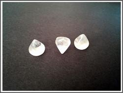 Vuorikristalli, Ø 10 mm kapussi kartio/sipuli