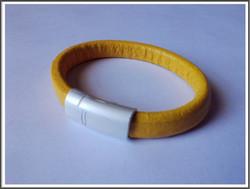 Magneettilukko 10 x 7 mm, väri: satiini hopea