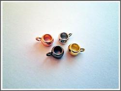 Riipuspidike, Ø 5 mm nauhalle, rondelli, eri värejä