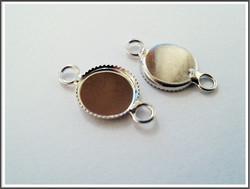 Korupohja linkki Ø 10 mm kapussille, teräsväri