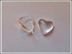 Lasikapussi 12 x 12 mm, sydän