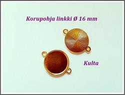 Korupohja linkki Ø 16 mm, eri värejä