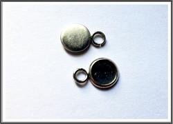 Korupohja Ø 6 mm kapussille, ruostumaton teräs