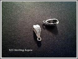Riipuslenkki .925 hopea 14 x 5.5 mm, Sulka