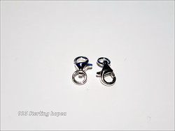 Rapulukko .925 hopeaa, 8 mm + rengas