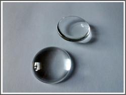 Lasikapussi pyöreä 25 mm