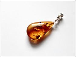 Meripihka, pisarariipus 925 hopeisella pidikkeellä, uniikki