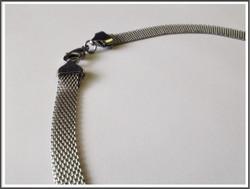 Metallinauha litteä 8 mm, ruostumaton teräs, 50 cm