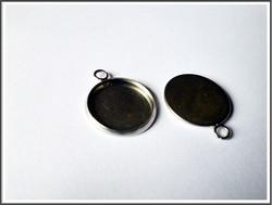 Korupohja pyöreä Ø 16 mm kapussille, ruostumaton teräs