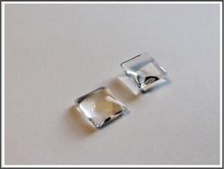 Lasikapussi 10 mm, neliö, kirkas