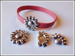 Magneettilukko 10 x 2 mm, kukka
