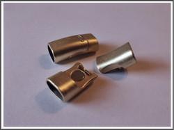 Magneettilukko 10 x 7 mm, väri: satiini kulta