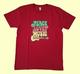 Retrohenkinen punainen t-paita