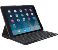 Logitech CANVAS Keyboard Case For iPad mini2 ja 3 - musta