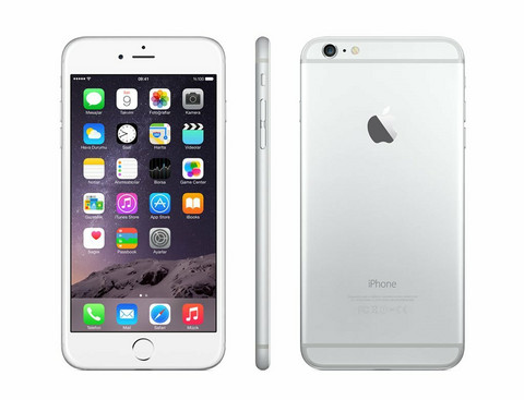 iPhone 6 plus 16GB 4G Valkoinen (Silver)
