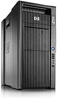 HP Z800 tehotyöasema 2kpl Xeon X5650 2.66 GHz 64Gb / 2kpl 480 SSD + 3x1.0 Tb Win 10 Pro Quadro FX 4800