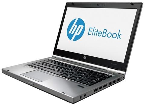 HP Elitebook 8470p Core i5-3320 2.6 GHz HD Win10 Pro 8/128 SSD/A.