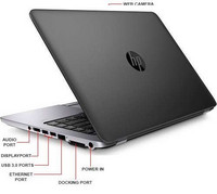 HP Elitebook 820 G1 i5/8GB/180SSD/HD/A