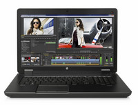 HP ZBook 17 Mobile Workstation i5/8GB/128SSD HD+/Nvidia/uusi akku/A