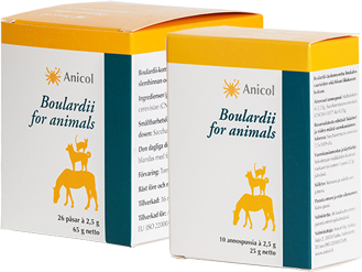 Boulardii for animals