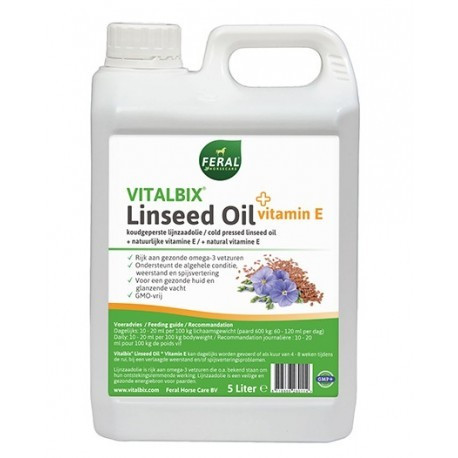 Vitalbix Linseed Oil + Vitamin E 5L