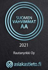 Suomen Vahvimmat AA 2020 Rautanyrkki Oy