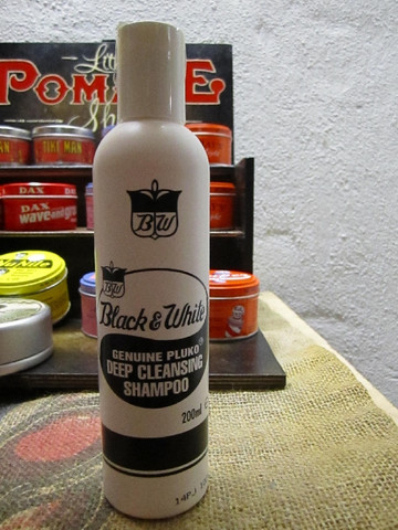 Black and White Deep Cleansing Shampoo