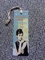 Kirjanmerkki Audrey Hepburn 2