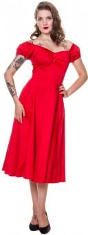 Dolores Doll Classic punainen mekko
