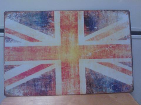 Peltitaulu Lippu Britannia