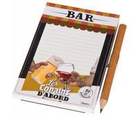 Muistilehtiö Bar