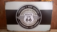 Peltitaulu Route 66