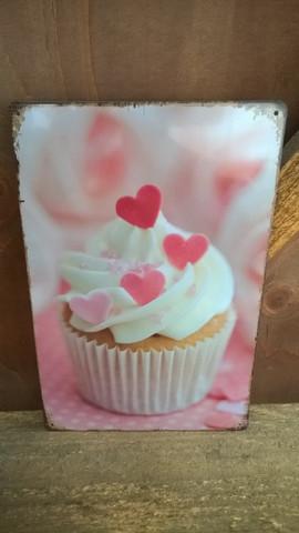 Peltitaulu Muffini Pinkki