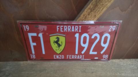 Peltitaulu Ferrari