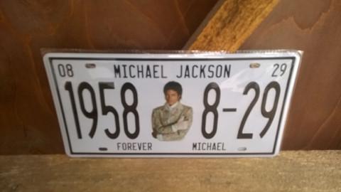 Peltitaulu Michael Jackson