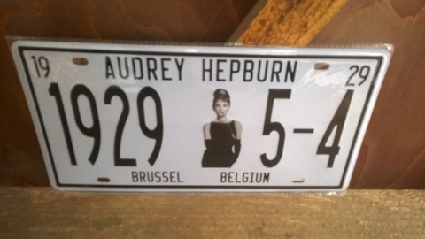 Peltitaulu Audrey Hepburn