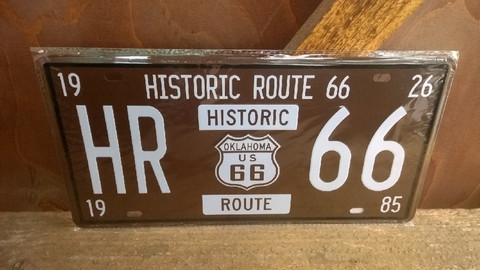 Peltitaulu Historic Route 66