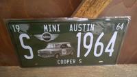 Peltitaulu Mini Austin Cooper s