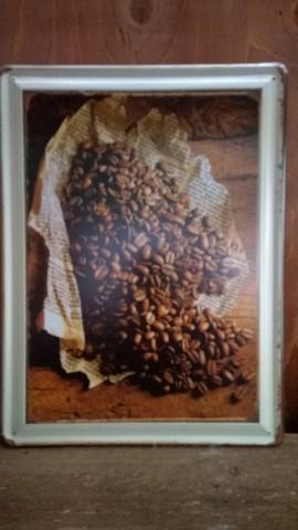 Peltitaulu Kahvipavut