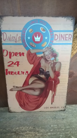 Peltitaulu Daisy`s Diner
