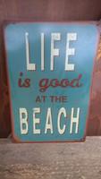 Peltitaulu Life At The Beach