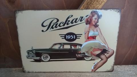 Peltitaulu Packard
