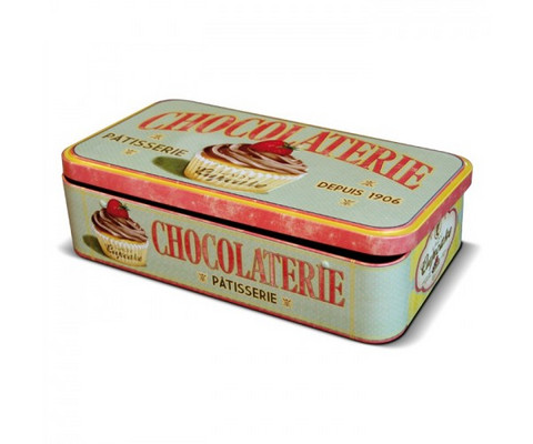Peltipurkki Lady Cupcake Choco