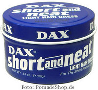 Dax Short and Neat Hiusvaha