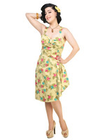 Tallulah Honolulu Hibiscus Sarong Dress
