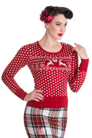 Belle Jumper Red